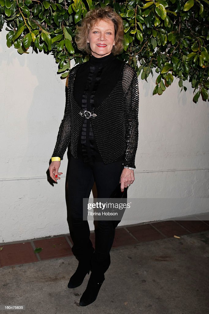 Deborah May attends the 'Kumpania Flamenco' premiere at El Cid on January 31, 2013 in Los Angeles, California.