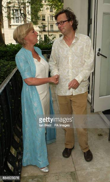 Deborah Meaden and Hugh FearnleyWhittingstall arrive at The Observer Ethical Awards 2008 at the Hempel Hotel in London