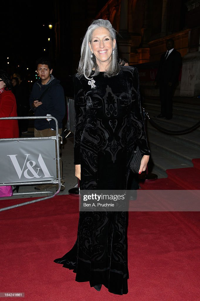 Deborah Nadoolman Landis attends the Hollywood Costume gala dinner at Victoria & Albert Museum on October 16, 2012 in London, England.