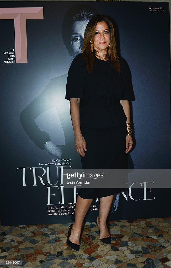 Deborah Needleman attends Deborah Needleman's New York Times inaugural issue party during Milan Fashion Week Womenswear Fall/Winter 2013/14 on February 23, 2013 in Milan, Italy.