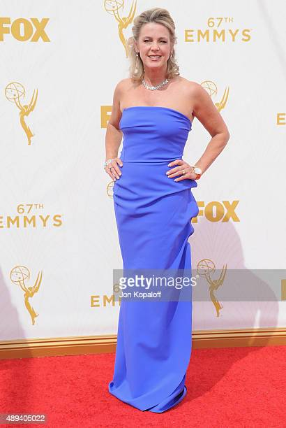 Deborah Norville arrives at the 67th Annual Primetime Emmy Awards at Microsoft Theater on September 20 2015 in Los Angeles California