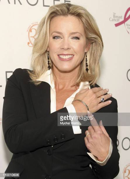 Deborah Norville at the Carolee 35th Anniversary Celebration September 19 2007 at Le Cirque in New York City