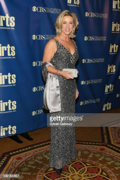 Deborah Norville during International Radio and Television Society Foundation 'Gold Medal Awards' Gala Arrivals at The Waldorf Astoria in New York...