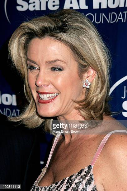 Deborah Norville during Joe Torre Safe at Home Foundation's Third Annual Gala November 18 2005 at Pierre Hotel in New York New York United States