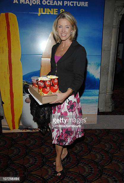 Deborah Norville during 'Surfs Up' Columbia Pictures and Sony Pictures Animations Present a Special Family Screening at Loews Lincoln Center in New...