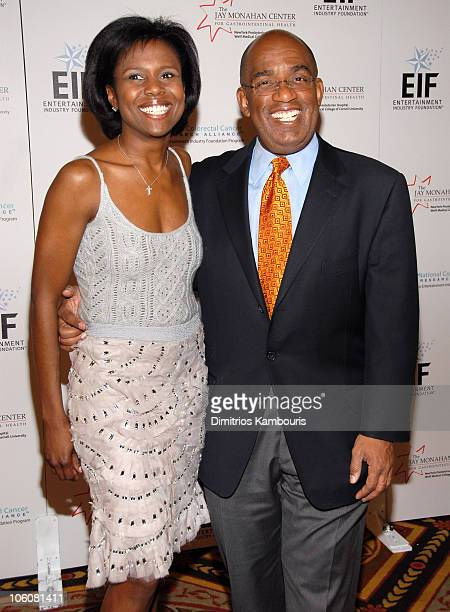 Deborah Roberts and Al Roker at the Entertainment Industry Foundation NCCRA 'EIF NCCRA' Colorectal Cancer Benefit at the Waldorf Astoria **NO...