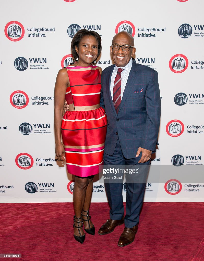 Deborah Roberts and Al Roker attend the 2016 CollegeBound Initiative celebration at Jazz at Lincoln Center on May 26 2016 in New York City