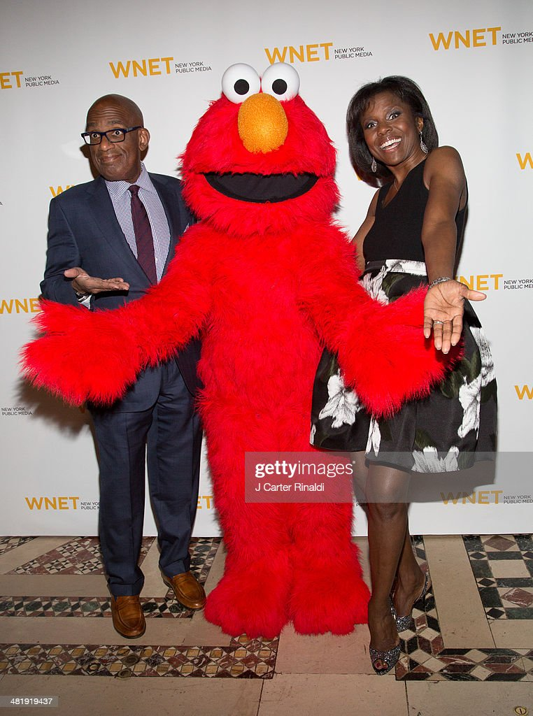 Deborah Roberts and Al Roker attend the WNET 2014 Gala at Cipriani 42nd Street on April 1 2014 in New York City