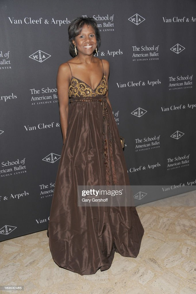 Deborah Roberts attends the 2013 School Of American Ballet Winter Ball: A Night In The Far East at David H. Koch Theater, Lincoln Center on March 11, 2013 in New York City.