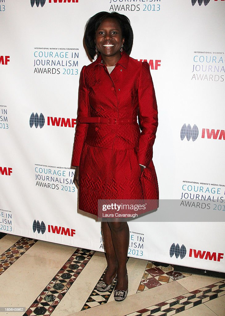 <a gi-track='captionPersonalityLinkClicked' href=/galleries/search?phrase=Deborah+Roberts&family=editorial&specificpeople=214075 ng-click='$event.stopPropagation()'>Deborah Roberts</a> attends the International Women's Media Foundation's 2013 Courage In Journalism awards at Cipriani 42nd Street on October 23, 2013 in New York City.