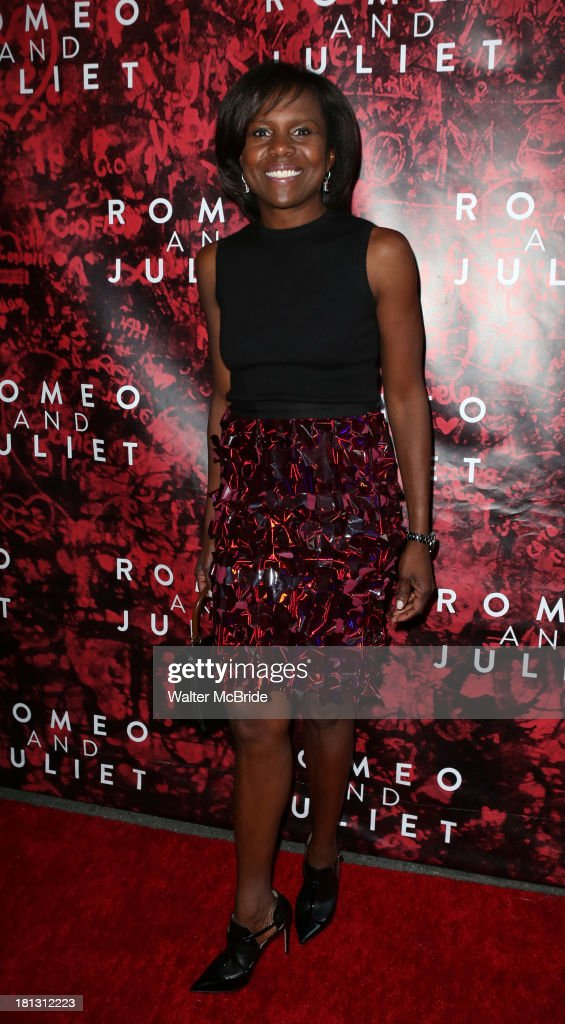 Deborah Roberts attends the 'Romeo And Juliet' Broadway Opening Night at Richard Rodgers Theatre on September 19, 2013 in New York City.