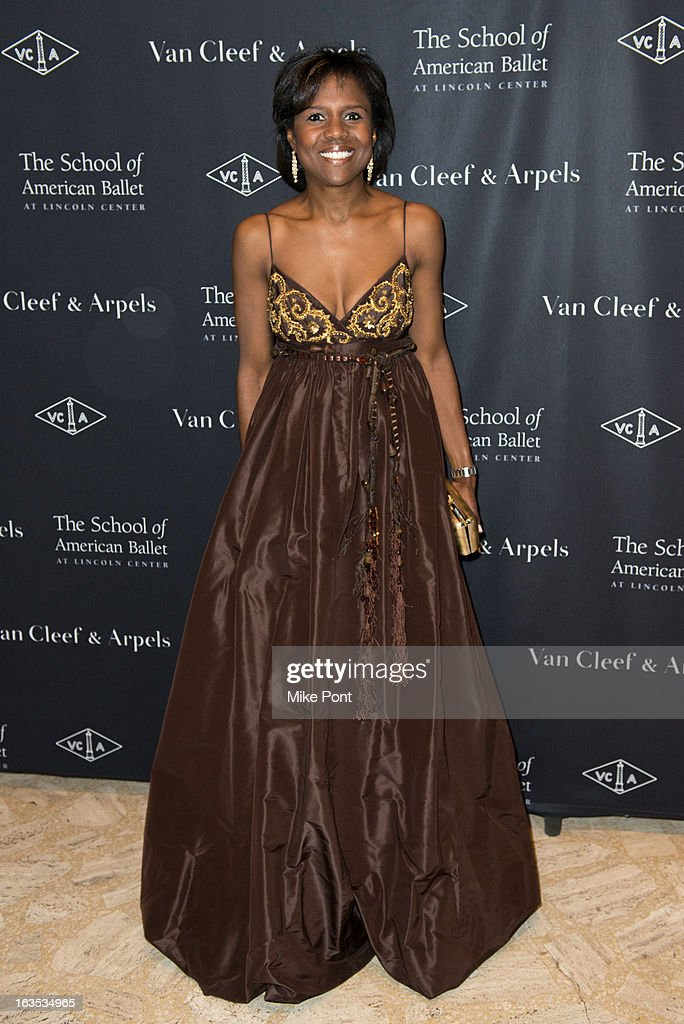 Deborah Roberts attends the School of American Ballet 2013 Winter Ball at David H. Koch Theater, Lincoln Center on March 11, 2013 in New York City.