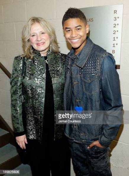 Deborah Shore of Sasha Bruce Youthwork and singer Torion Sellers attends the 2013 HOPE Inaugural Youth Ball at the Howard Theatre on January 20 2013...