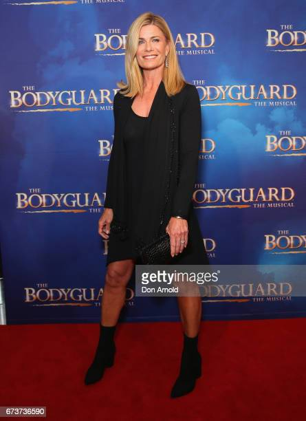Deborah Thomas arrives ahead of opening night of The Bodyguard The Musical at Lyric Theatre Star City on April 27 2017 in Sydney Australia