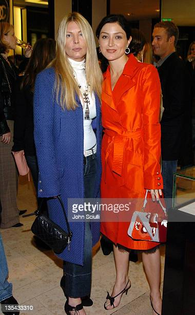 Deborah Unger and Sasha Alexander during Chanel's Special Premiere Screening of 'No5 The Film' at Chanel Boutique in Beverly Hills California United...