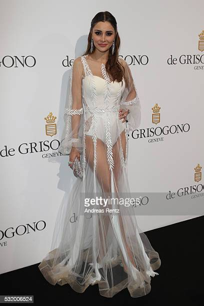 Deborah Valdez Hung attends the De Grisogono Party during the annual 69th Cannes Film Festival at Hotel du CapEdenRoc on May 17 2016 in Cap d'Antibes...