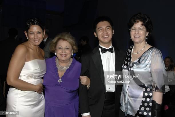 Deborah Vizzi Gaetana Enders Conrad Tao and Veda Kaplinsky attend The Juilliard School Gala Celebrating Joseph W Polisi at The Juilliard School on...