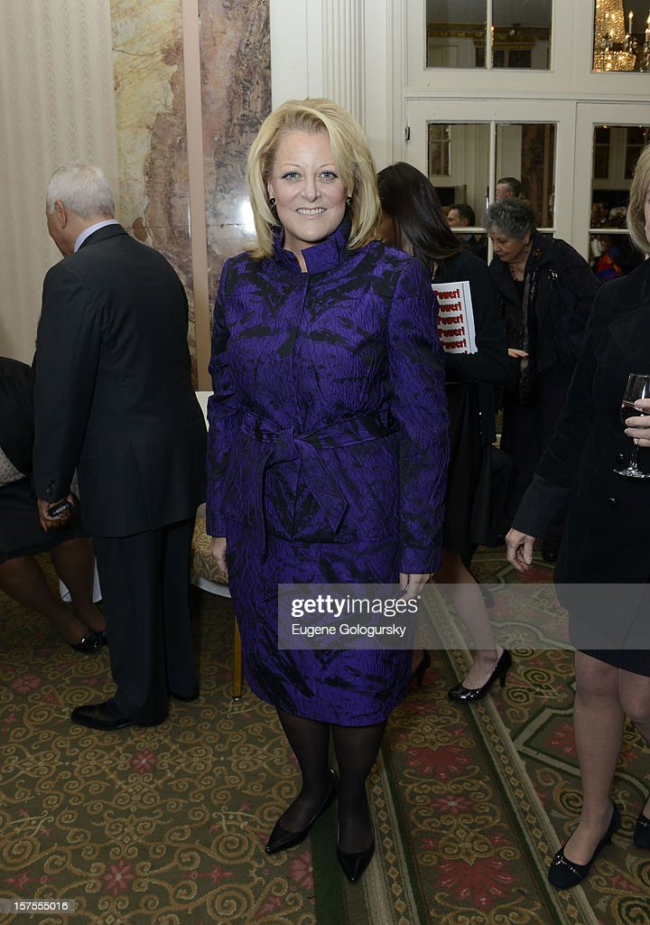 Deborah Voight attends the Metropolitan Opera Guild's 78th Annual Luncheon Celebrating 'Star Power!' at The Waldorf Astoria on December 4, 2012 in New York City.