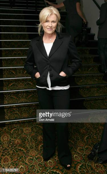 DeborraLee Furness attends the launch of the 2007 Sydney African Film Festival Paddington at the Chauvel Cinema on October 19 2007 in Sydney Australia