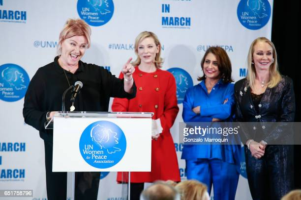 DeborraLee Furness Cate Blanchett Muna Rihani AlNasser and Barbara Winston attended The United Nations Women for Peace Association's Annual Awards...