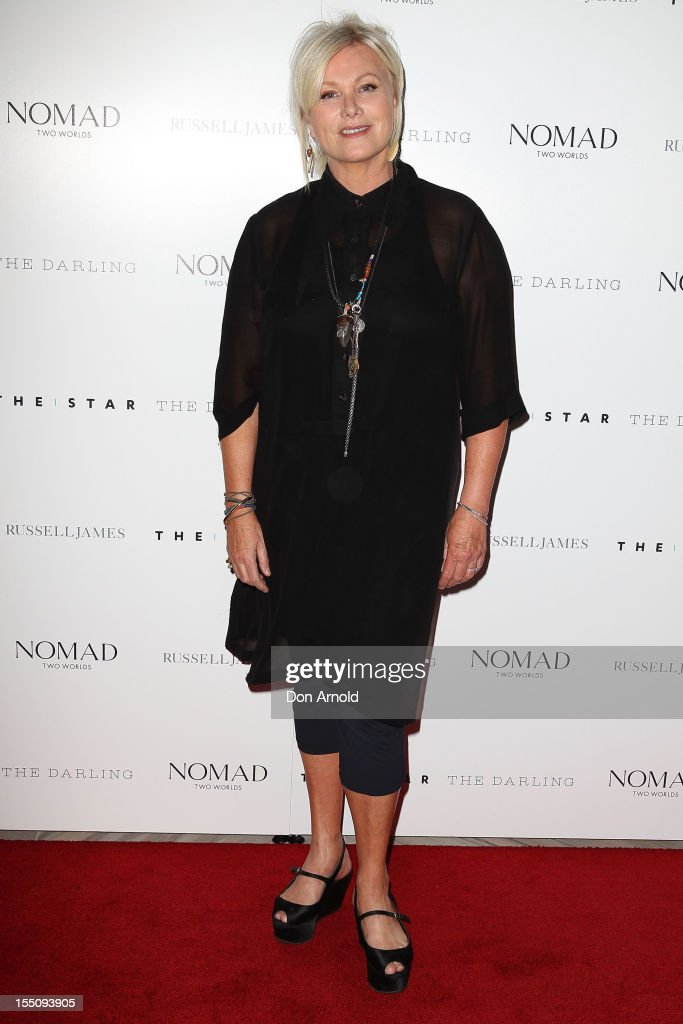 Deborra-Lee Furness poses at the book launch of 'Nomad Two Worlds' by Russell James on November 1, 2012 in Sydney, Australia.