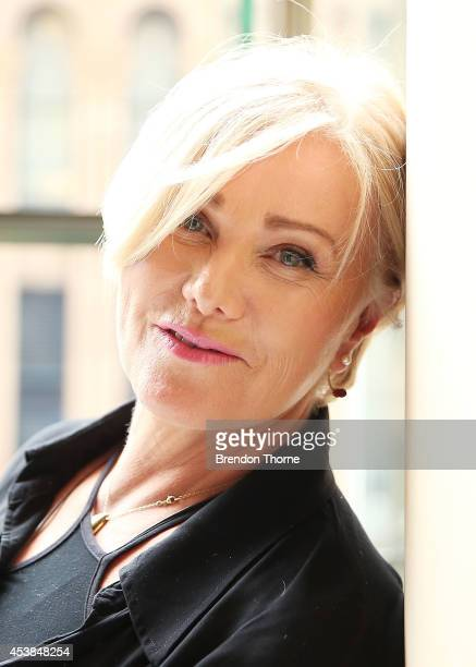 DeborraLee Furness poses at the launch of the new adoption change and new awareness ambassadors at Hilton Hotel on August 20 2014 in Sydney Australia