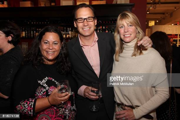 Debra Bluman Drew Schutte and Kelly Schutte attend Epicurious 15th Anniversary Dinner at Eataly on September 29 2010 in New York City