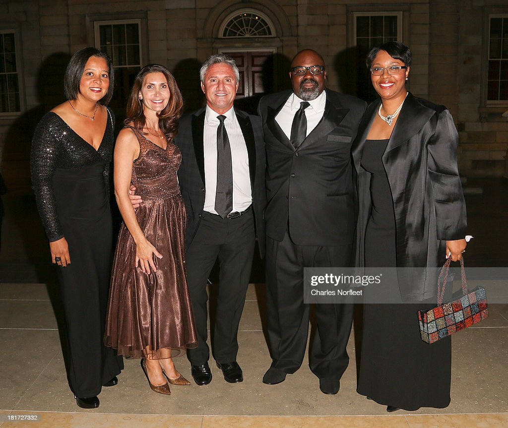 Debra Clawson-Jackson, Ursula Ayres, Victor Ayres, Dorsey James and Debra James attend 2013 Multicultural Gala: An Evening Of Many Cultures at Metropolitan Museum of Art on September 23, 2013 in New York City.