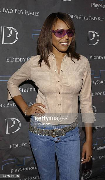 Debra Cox during 'P Diddy The Bad Boy FamilyThe Saga Continues' CD Release Party Sponsored By PlayStation 2 at Tao Club in New York New York United...