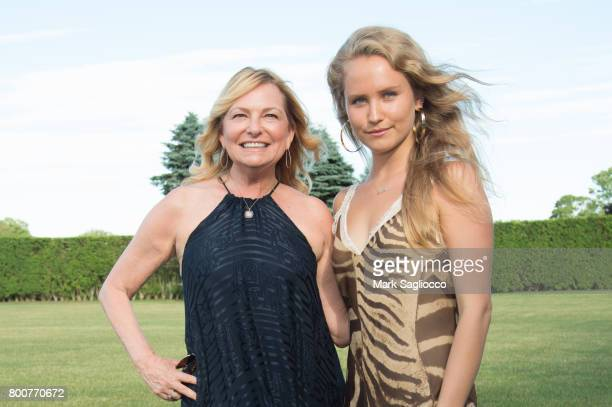 Debra Halpert and Sailor Brinkley Cook attend Hamptons Magazine and Matthew Breitenbach Celebration with Artist Gray Malin June 24 2017 in Watermill...