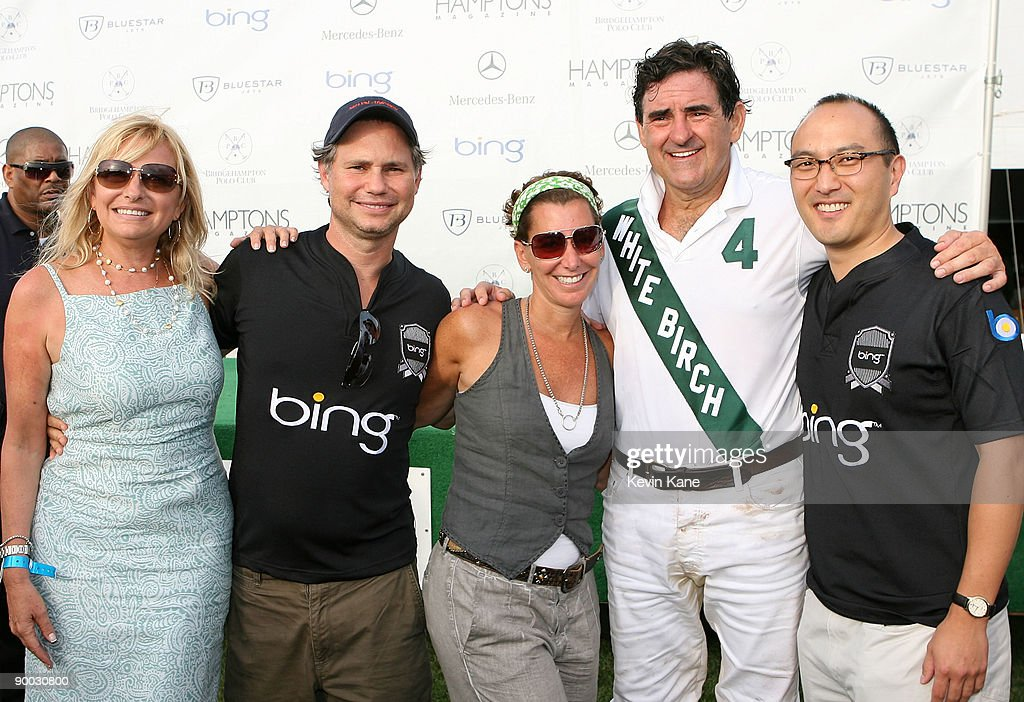 Debra Halpert, CEO of Niche Media, Jason Binn, Robin Domeniconi, Peter Brant and Stephen Kim attend the closing day of the Mercedes-Benz Polo Challenge celebrated by Hamptons Magazine and BING at the BH Polo Club on August 22, 2009 in Bridgehampton, New York.