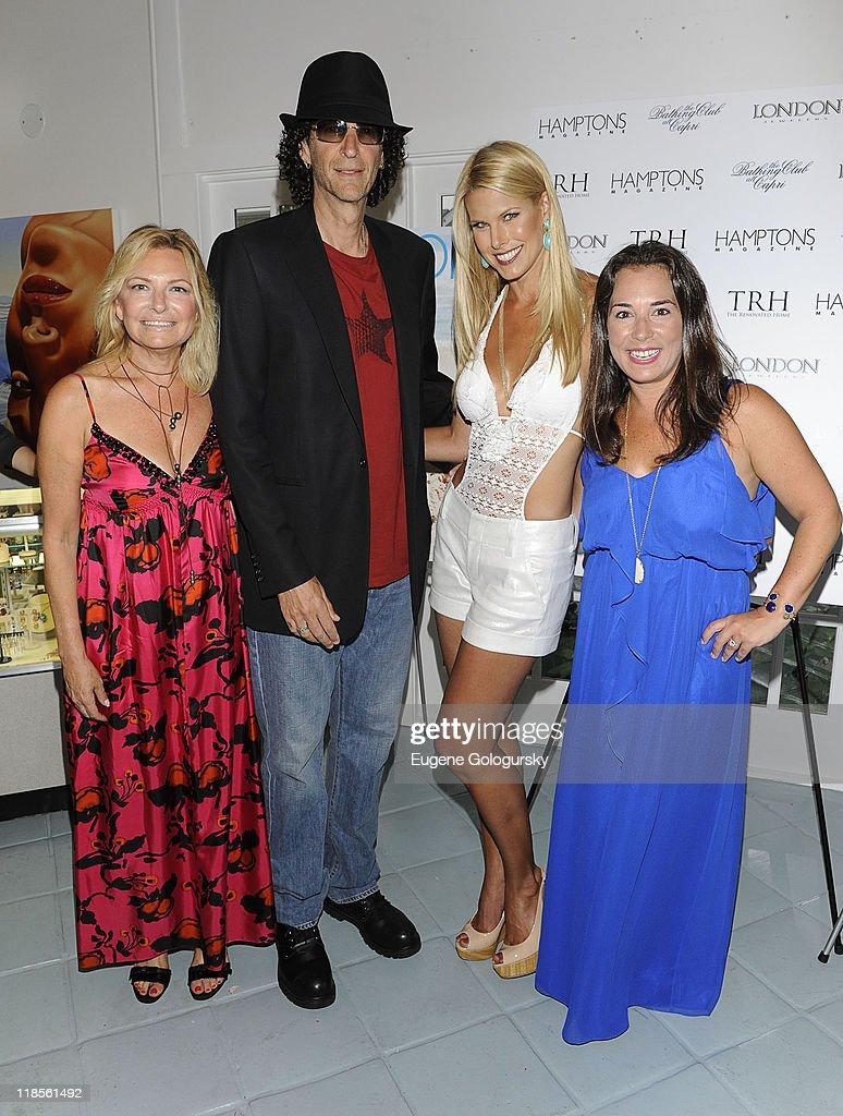 Hamptons Magazine Celebrate Cover Stars Beth Ostrosky ... Howard Stern Family