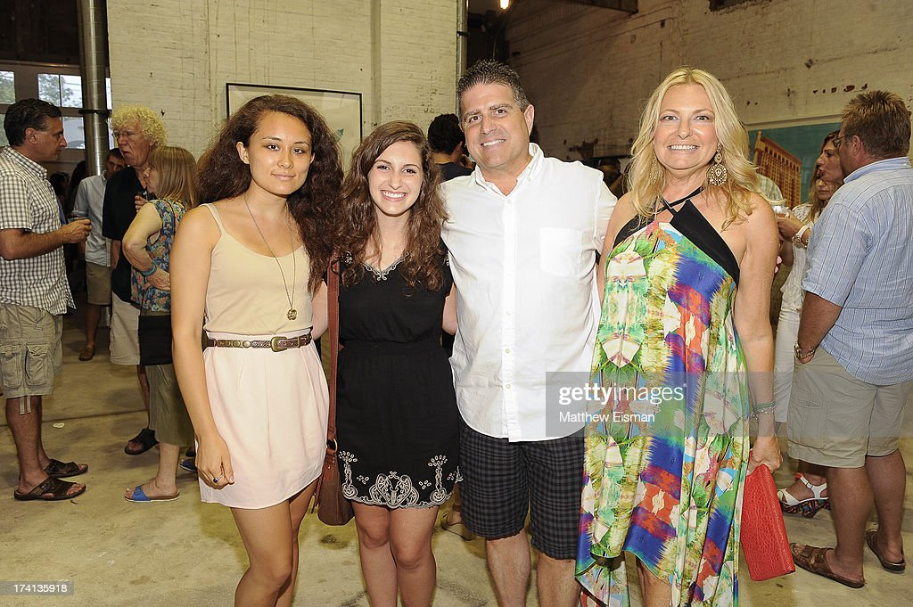 <a gi-track='captionPersonalityLinkClicked' href=/galleries/search?phrase=Debra+Halpert&family=editorial&specificpeople=691655 ng-click='$event.stopPropagation()'>Debra Halpert</a>, Rob Passaei and guests attend Hamptons Magazine celebrates an Evening of Banksy at Keszler Gallery on July 20, 2013 in Southampton, New York.