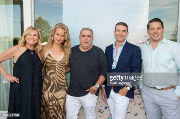 Debra Halpert Sailor Brinkley Cook Andrew Azoulay Gray Malin and Matthew Breitenbach attend Hamptons Magazine and Matthew Breitenbach Celebration...