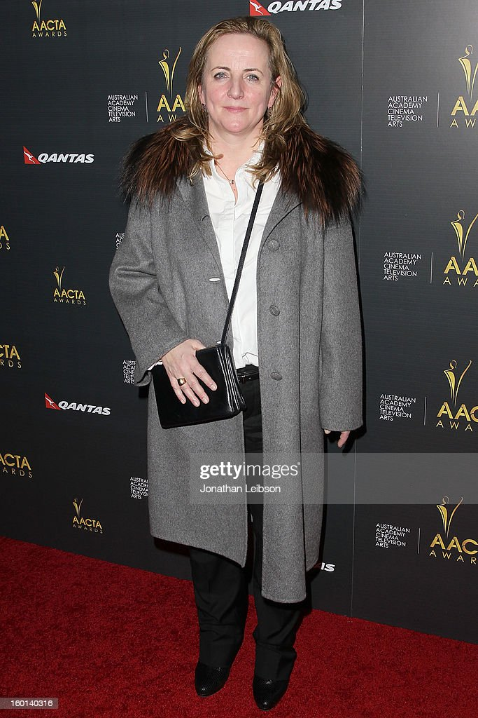 Debra Hayward attends the 2nd AACTA International Awards at Soho House on January 26, 2013 in West Hollywood, California.