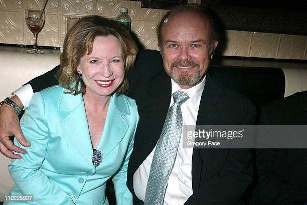 Debra Jo Rupp and Kurtwood Smith during 2005/2006 FOX Prime Time UpFront Inside Green Room and Party at Seppi's Restaurant and Central Park Boathouse...