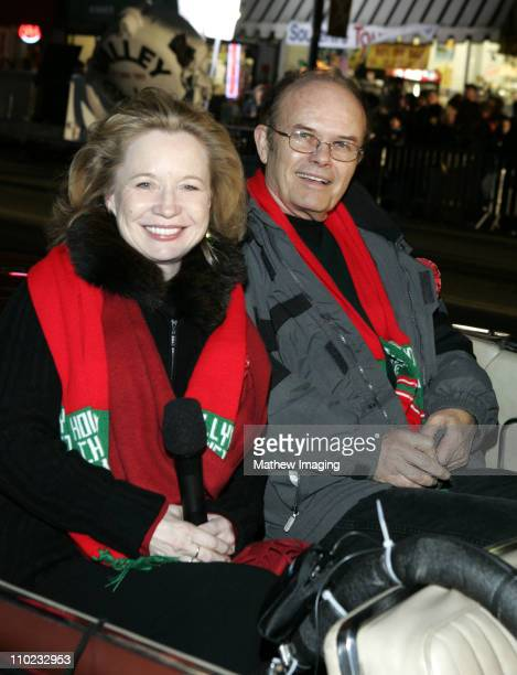 Debra Jo Rupp and Kurtwood Smith during The 73rd Annual Hollywood Christmas Parade Parade Route at Hollywood Roosevelt Hotel in Hollywood California...