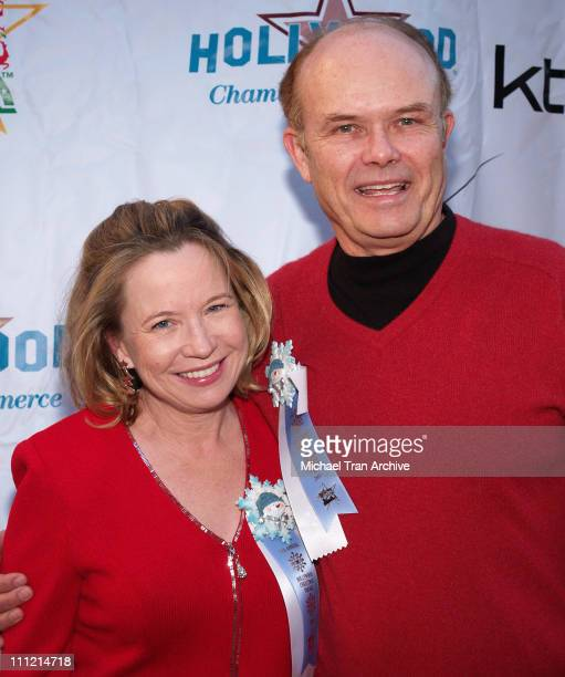 Debra Jo Rupp and Kurtwood Smith during The 74th Annual Hollywood Christmas Parade Arrivals at Hollywood Roosevelt Hotel in Hollywood California...