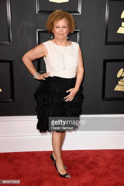 Debra L Lee attends The 59th GRAMMY Awards at STAPLES Center on February 12 2017 in Los Angeles California