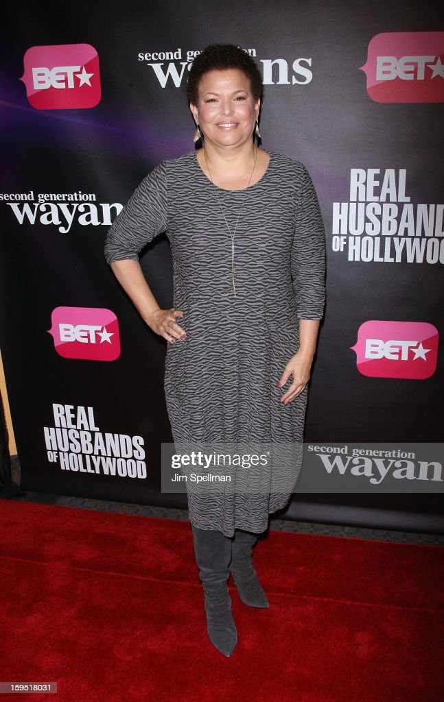 Debra L. Lee attends the 'Real Husbands Of Hollywood' & 'Second Generation Wayans' screening at SVA Theatre on January 14, 2013 in New York City.