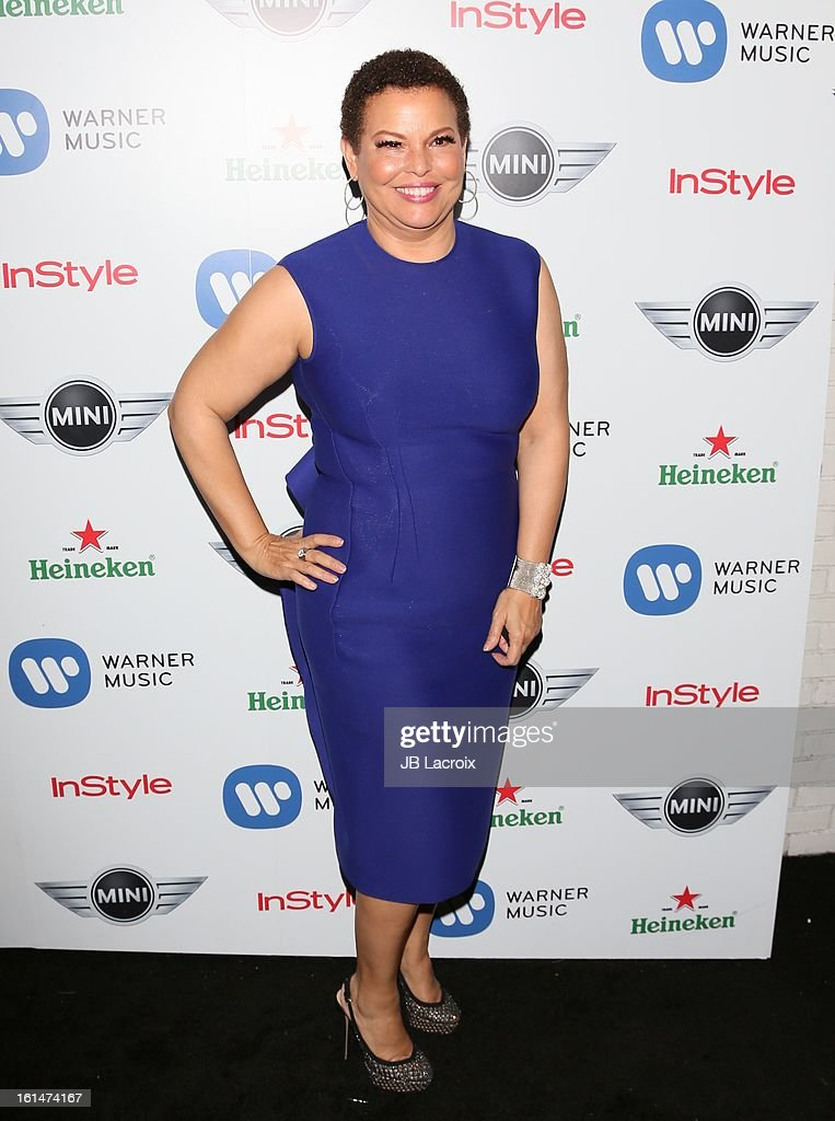 Debra L. Lee attends the Warner Music Group 2013 Grammy Celebration Presented By Mini held at Chateau Marmont on February 10, 2013 in Los Angeles, California.