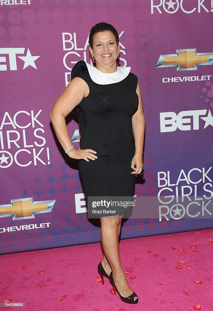 Debra Lee attends the red carpet during the CHEVY Shot Caller's Dinner on October 12, 2012 in New York City.
