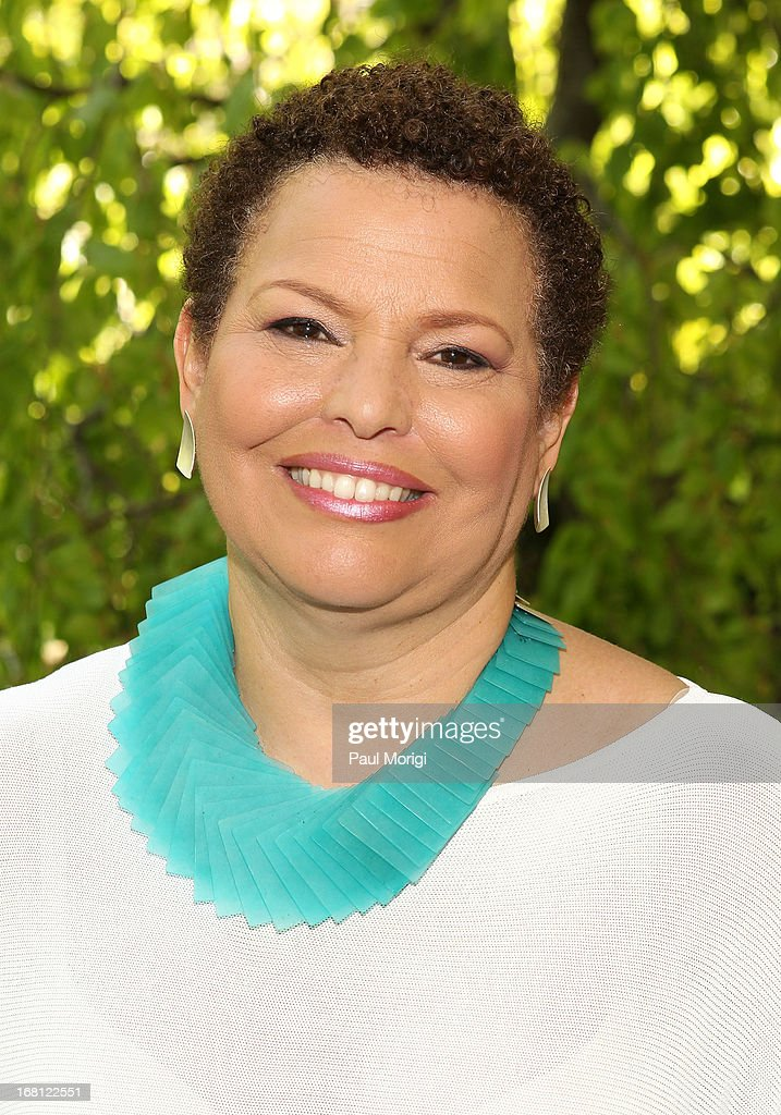 Debra Lee, Chairman & CEO, BET Networks, poses for a photo at the GRAMMY Foundation - Debra Lee house concert with Esperanza Spalding at Private Residence on May 5, 2013 in Washington, DC.