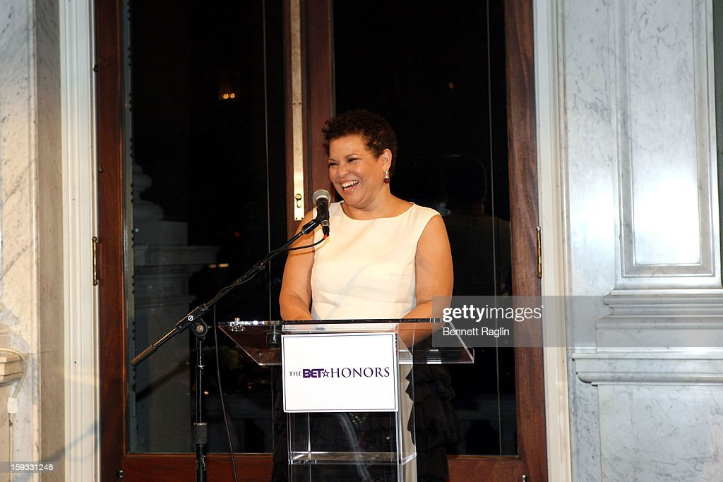 Debra Lee Pre-Dinner at The Library of Congress on January 11, 2013 in Washington, DC.