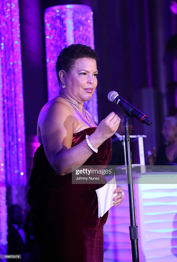 Debra Lee speaks at the 2013 BET Networks Inaugural Gala at Smithsonian National Museum Of American History on January 21, 2013 in Washington, United States.