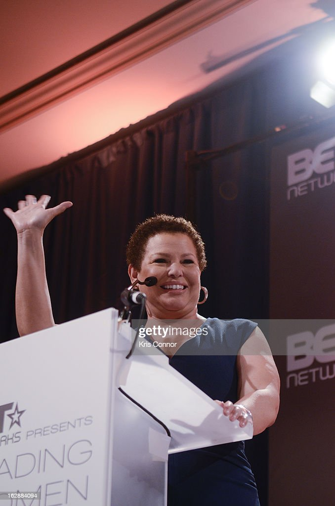 Debra Lee speaks during cocktails and dinner for Leading Women Defined at Ritz Carlton Hotel on February 28, 2013 in Washington, DC.
