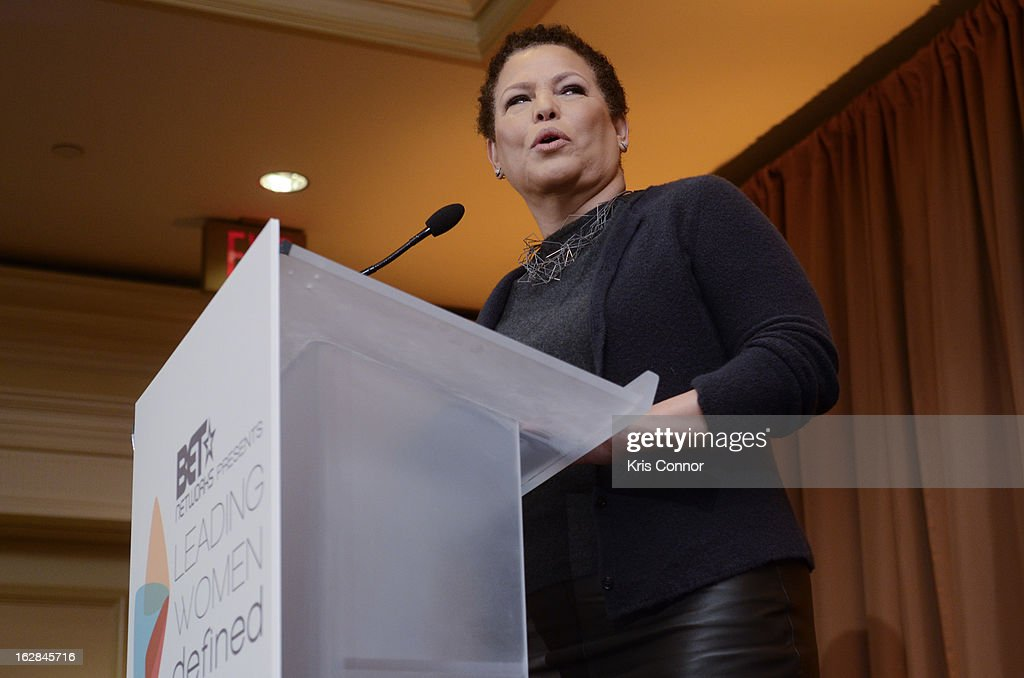 Debra Lee speaks during the Leading Women Defined: Intel Presents Developing Your Personal Brand Mentoring Session on February 28, 2013 in Washington, DC.