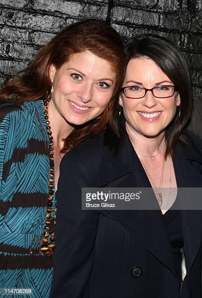 Debra Messing and Megan Mullally