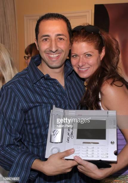 Debra Messing at Verizon at HBO Luxury Lounge