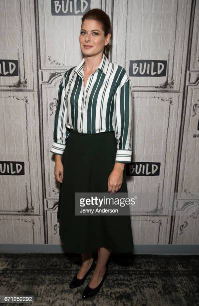 Debra Messing attends AOL Build Series at Build Studio on April 21 2017 in New York City
